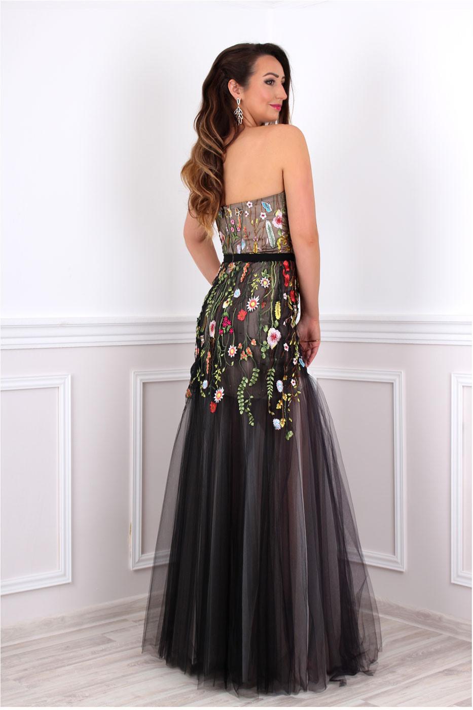 Designer Top Abendkleid Blumen für 201917 Schön Abendkleid Blumen Spezialgebiet
