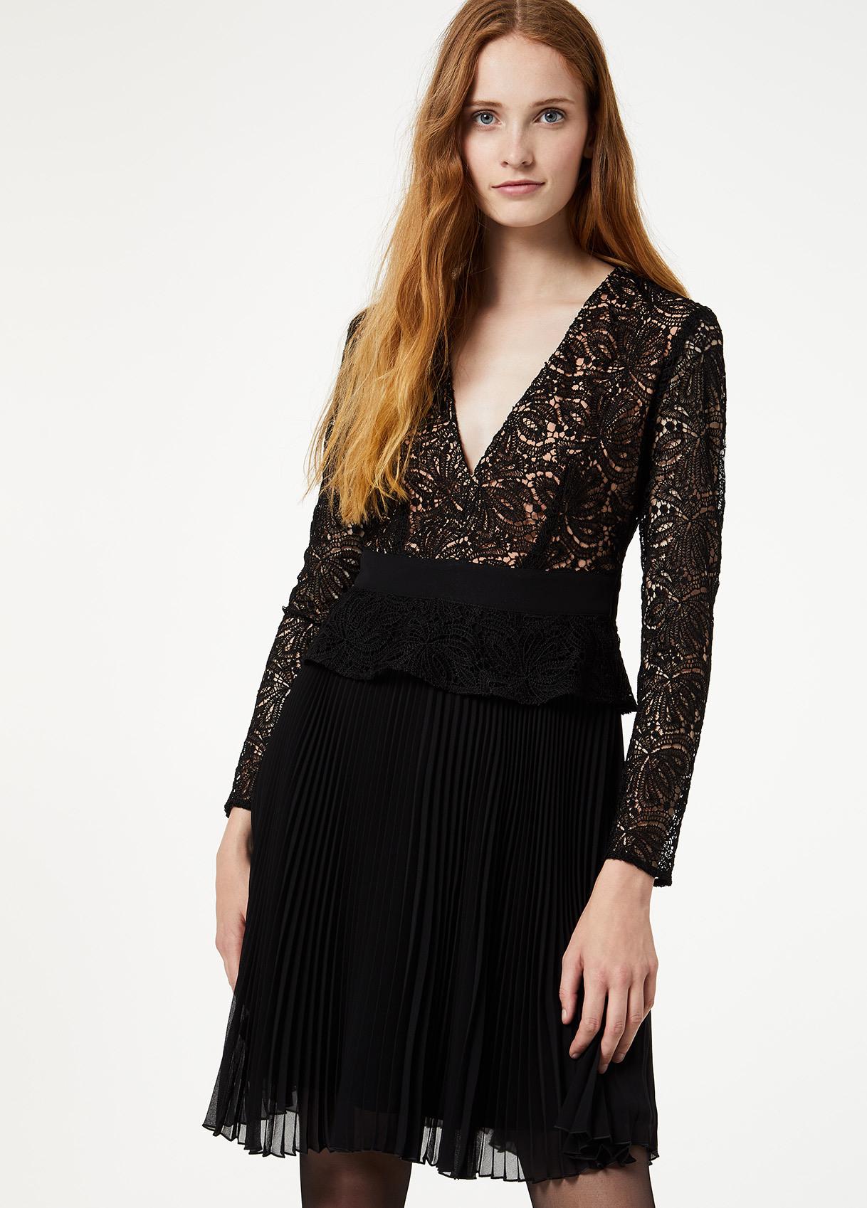 Großartig Kurzes Kleid Mit Spitze VertriebFormal Perfekt Kurzes Kleid Mit Spitze Vertrieb