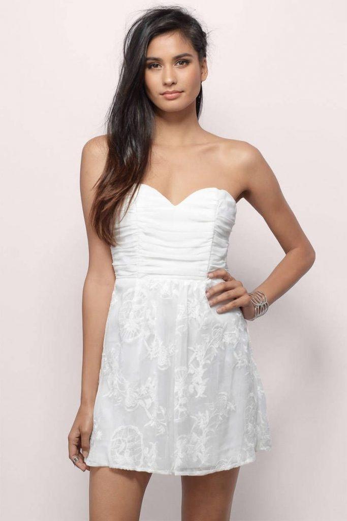 17 Coolste Kleid Weiß Kurz Design - Abendkleid