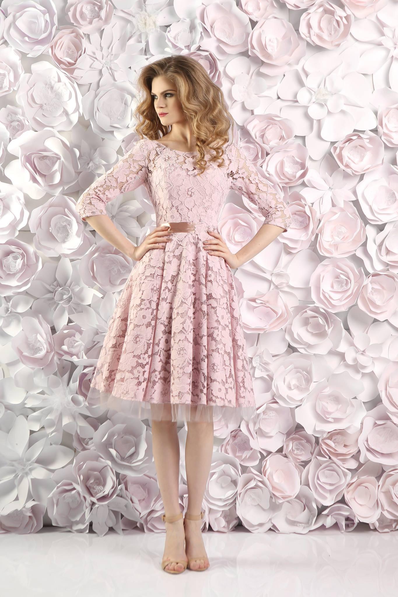 13 Cool Rosa Kleid Mit Ärmeln Design20 Großartig Rosa Kleid Mit Ärmeln Stylish