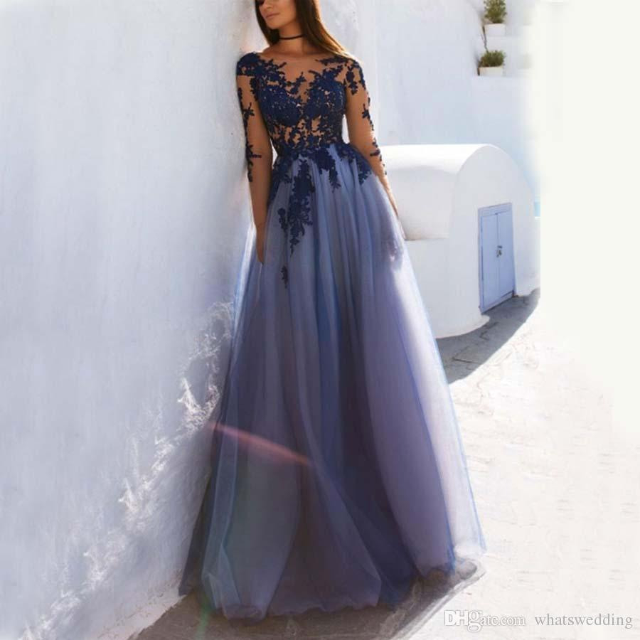 11 Leicht Abendkleid Lang Spitze Galerie - Abendkleid