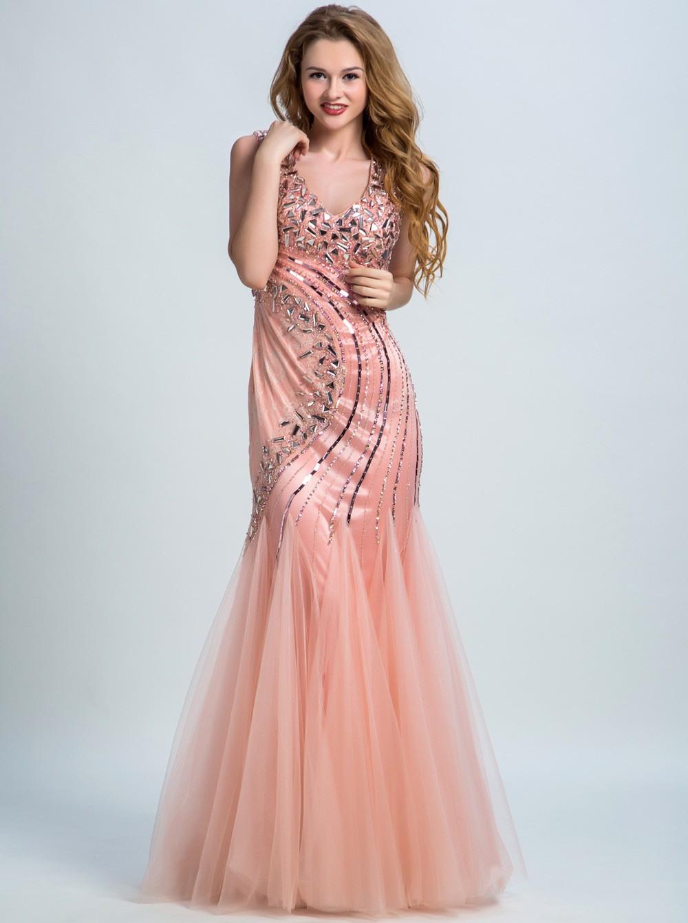 10 Genial Abendkleid V Ausschnitt Stylish10 Luxurius Abendkleid V Ausschnitt Boutique
