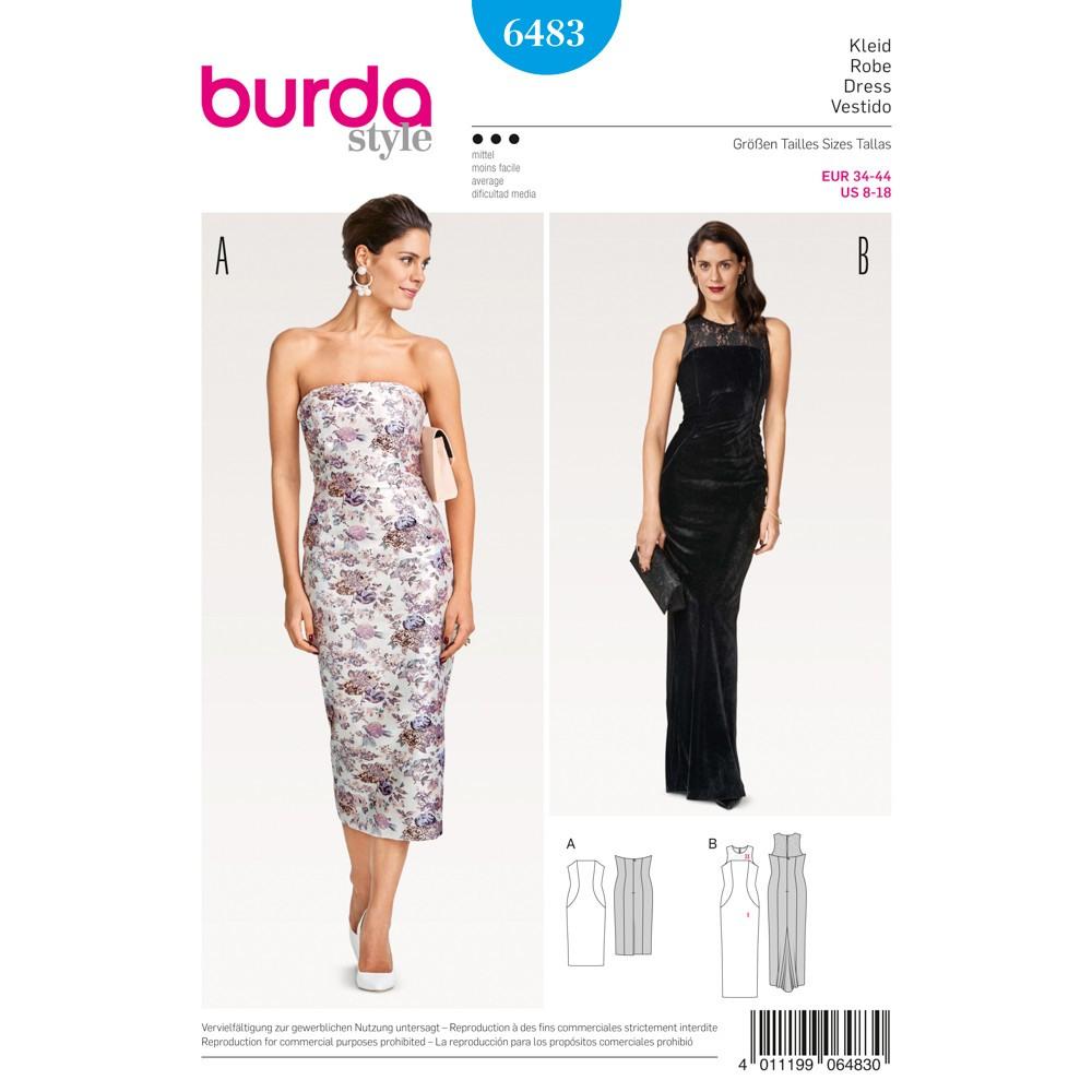 Schön Burda Abendkleid für 201920 Kreativ Burda Abendkleid Bester Preis