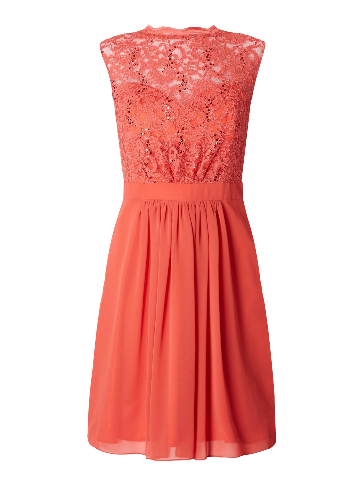 Formal Top Kleid Koralle Spitze Ärmel15 Kreativ Kleid Koralle Spitze Spezialgebiet