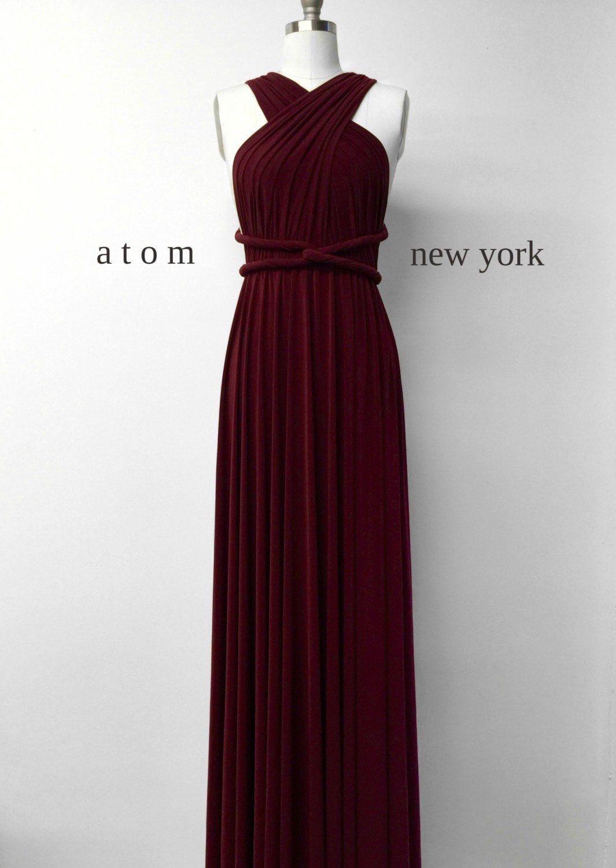 Elegant Abendkleid Bordeaux Rot für 2019Abend Luxus Abendkleid Bordeaux Rot Bester Preis