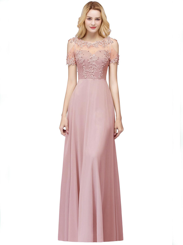 20 Wunderbar Abendkleider Altrosa Stylish Elegant Abendkleider Altrosa Design
