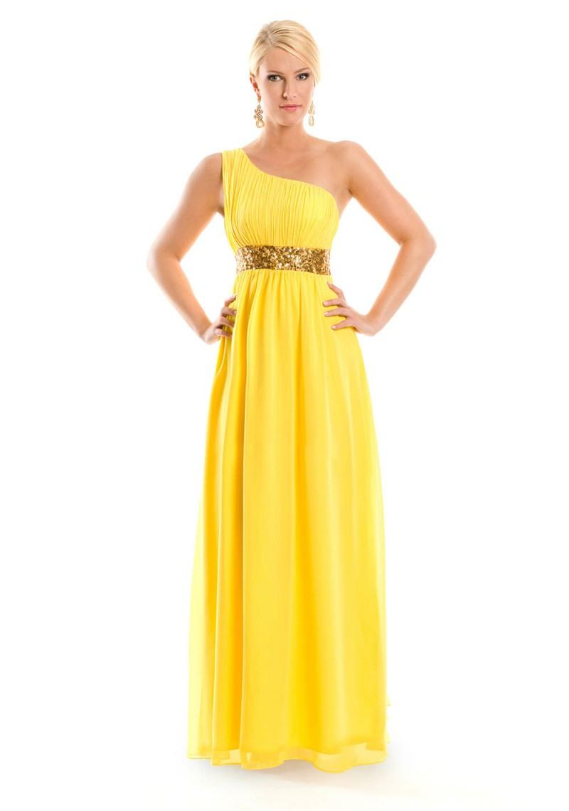 Formal Erstaunlich Gelbes Abendkleid ÄrmelDesigner Schön Gelbes Abendkleid Boutique