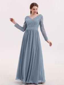 Abend Schön Kleid Blau Lang für 201920 Wunderbar Kleid Blau Lang für 2019