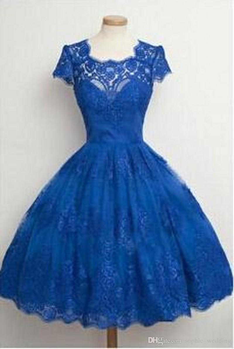 15 Schön Kurzes Blaues Kleid SpezialgebietFormal Coolste Kurzes Blaues Kleid Ärmel
