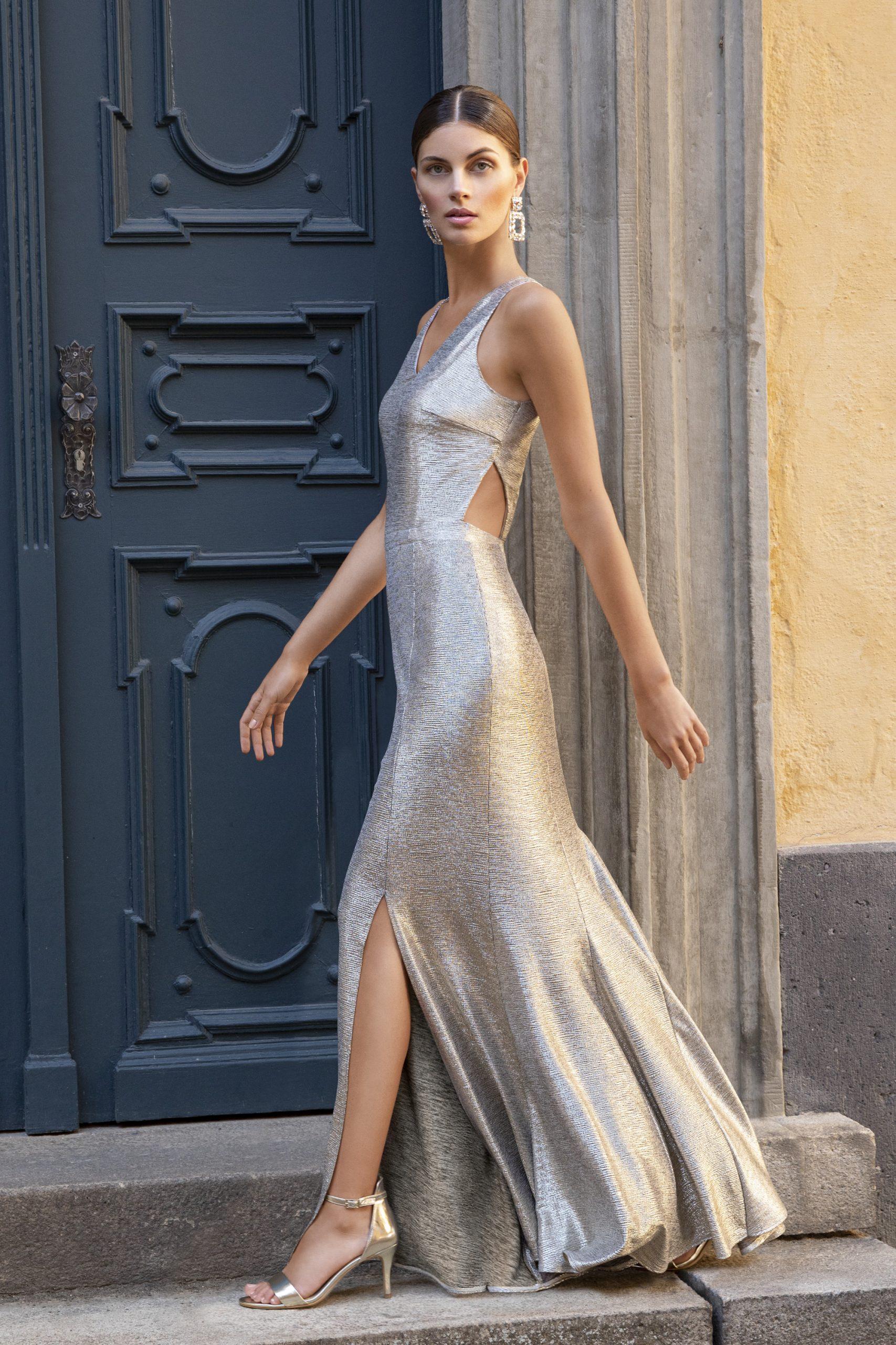 Designer Genial Goldenes Abendkleid ÄrmelFormal Schön Goldenes Abendkleid Boutique