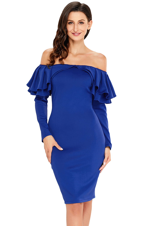 10 Einfach Königsblaues Abendkleid für 2019Designer Wunderbar Königsblaues Abendkleid Ärmel