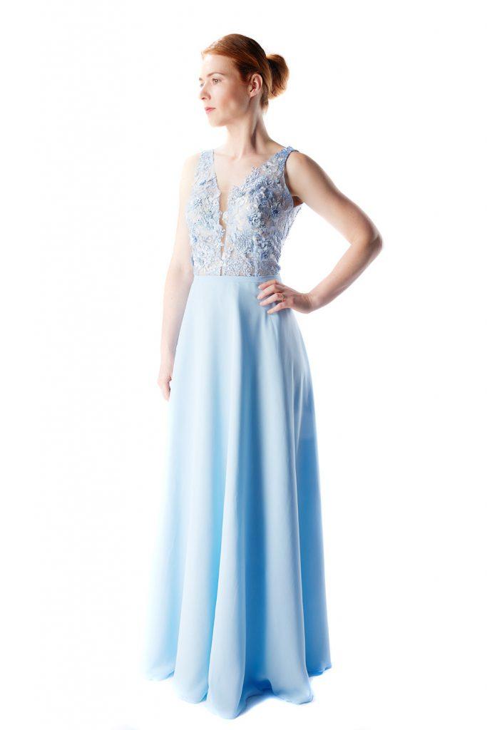 20 Cool Abendkleid Hellblau Lang Stylish - Abendkleid
