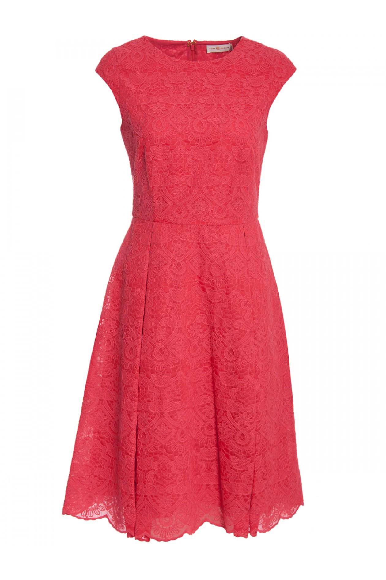 Abend Spektakulär Kleid Koralle Spitze Boutique Einfach Kleid Koralle Spitze Stylish
