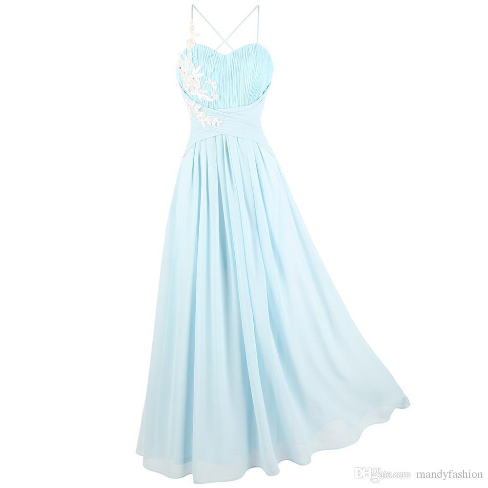 17 Perfekt Abendkleid Hellblau Lang VertriebAbend Schön Abendkleid Hellblau Lang Galerie