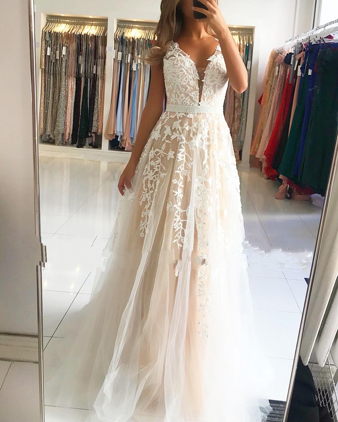 17 Genial Abendkleider Weiß Stylish17 Coolste Abendkleider Weiß für 2019