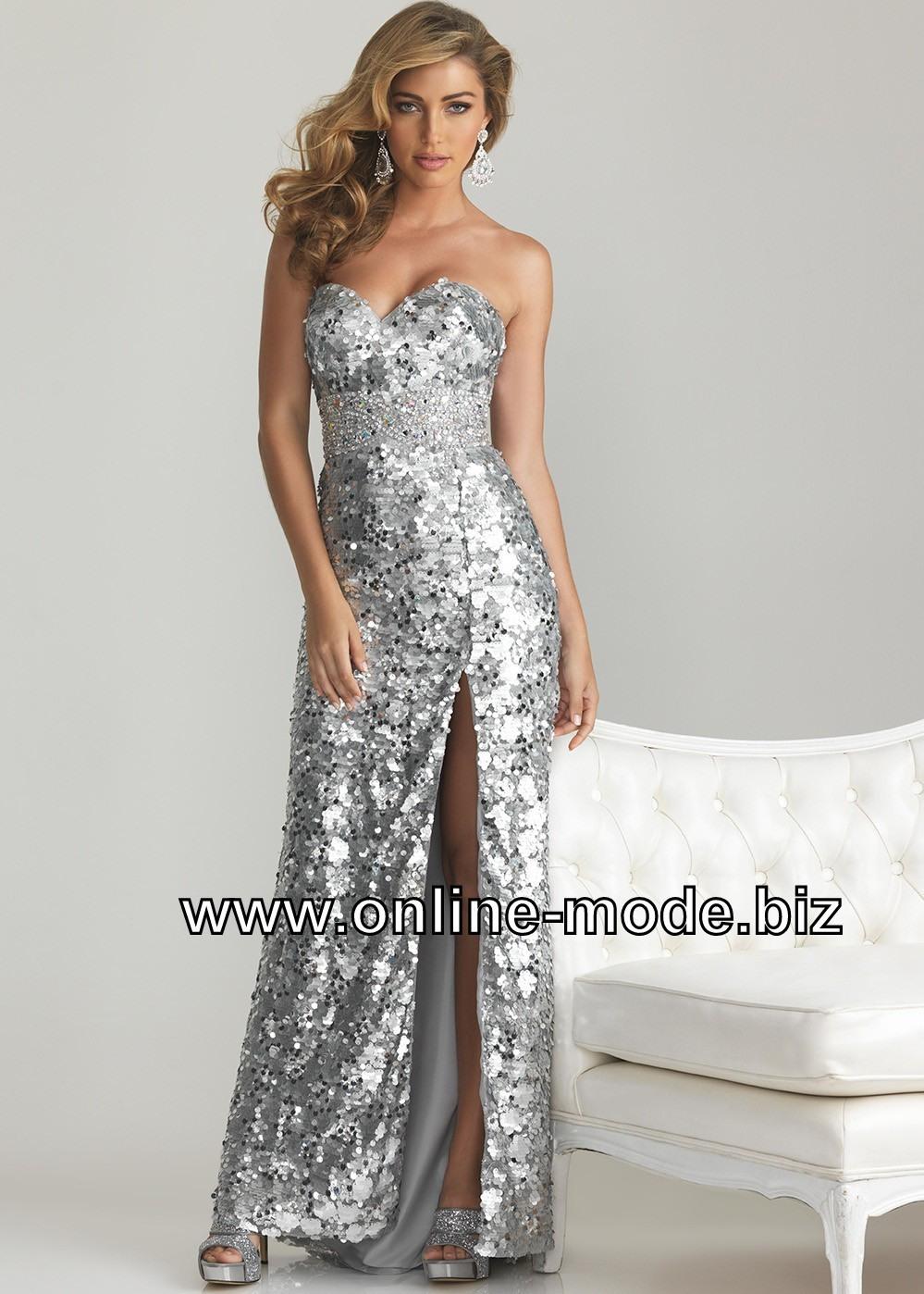 Formal Luxurius Silber Abend Kleid Vertrieb10 Schön Silber Abend Kleid Galerie