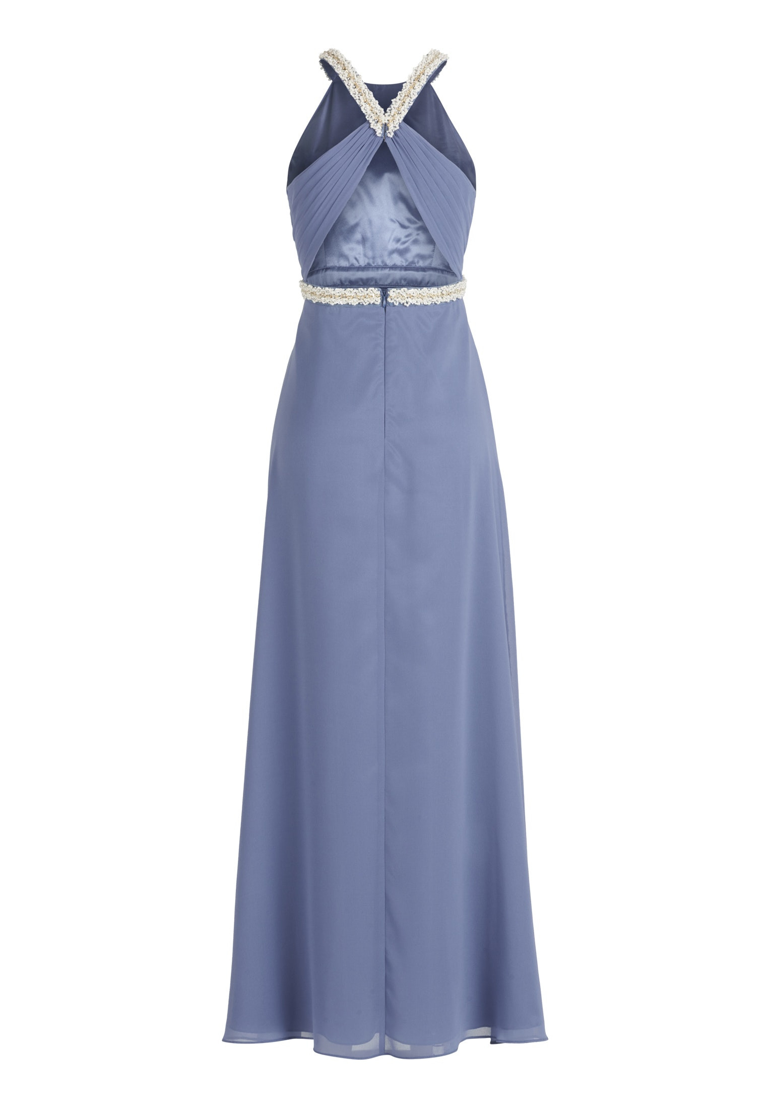 designer schön vera mont abendkleid blau design - abendkleid