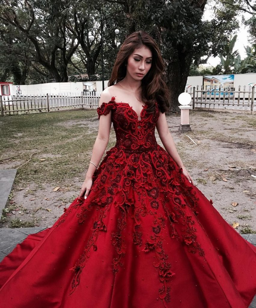 19 Perfekt Henna Abend Kleid Rot Ärmel - Abendkleid