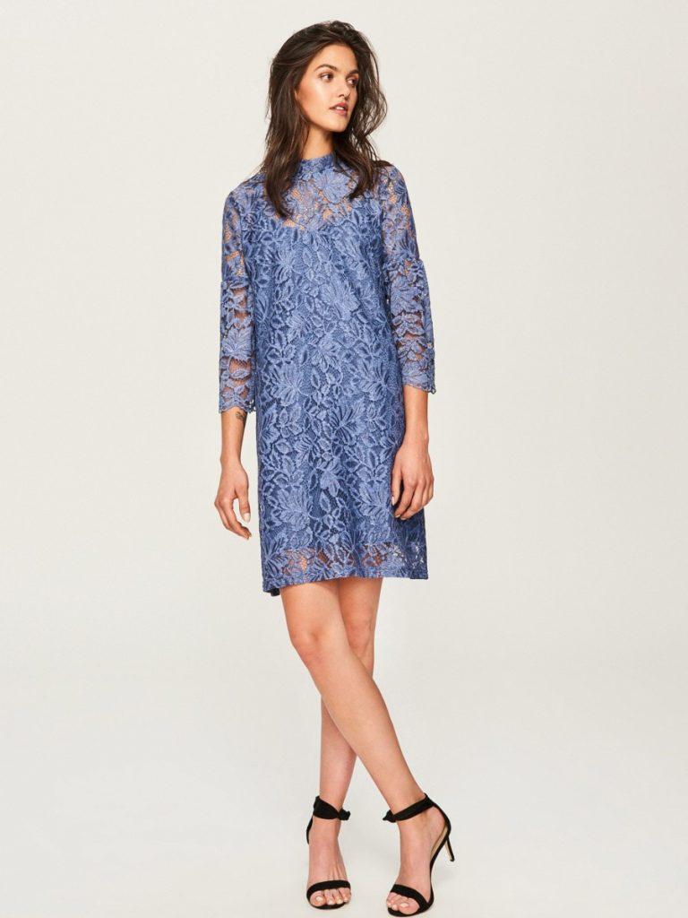 20 Perfekt Spitzenkleid Blau Ärmel - Abendkleid