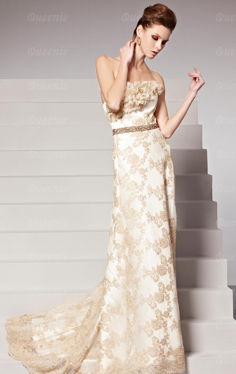 Schön Abendkleid Champagner VertriebFormal Luxus Abendkleid Champagner Galerie
