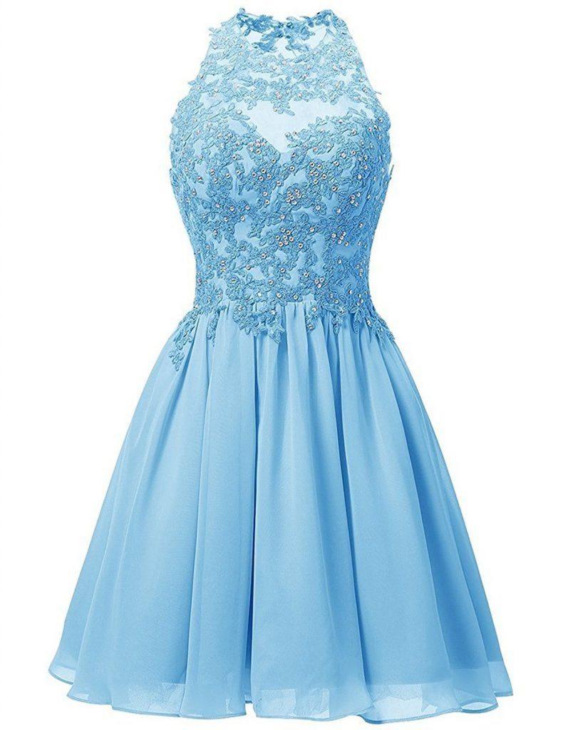 20 Schön Blaue Kleider Damen Ärmel - Abendkleid