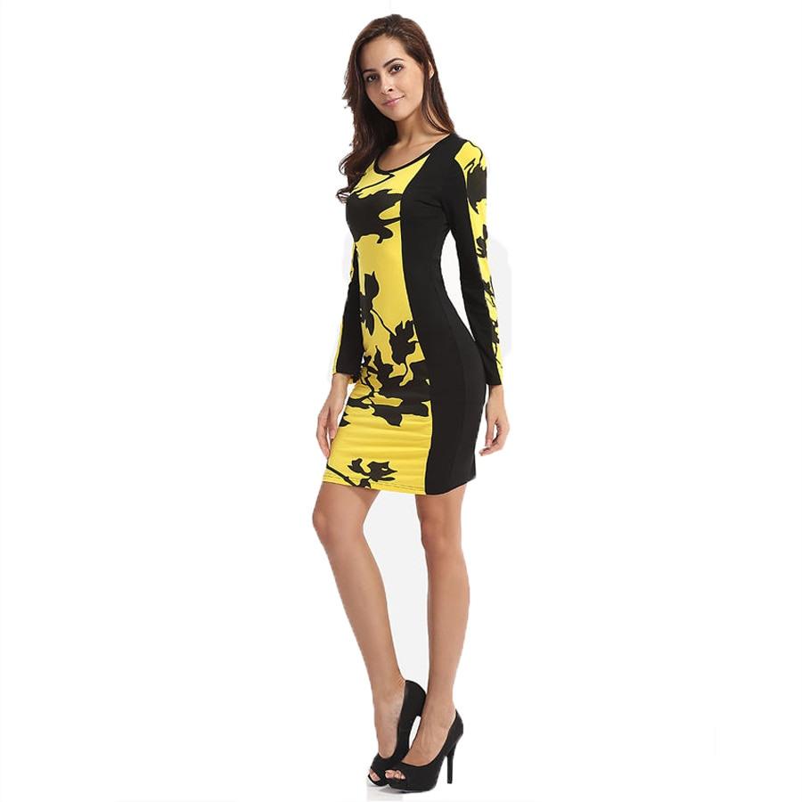Formal Großartig Kleid Gelb Schwarz für 201913 Schön Kleid Gelb Schwarz Spezialgebiet