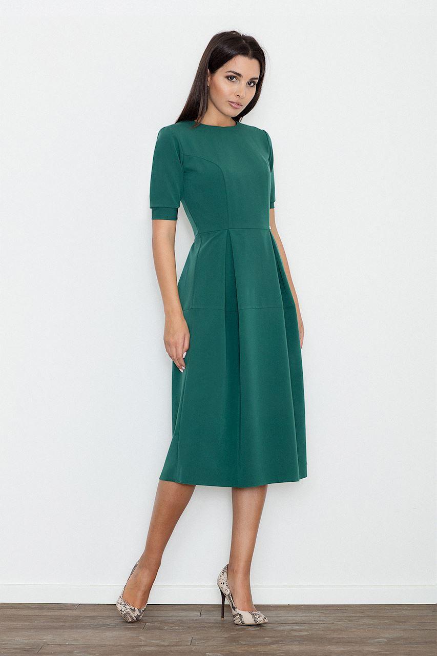 Abend Erstaunlich Kleid Grün Ärmel15 Luxurius Kleid Grün Ärmel