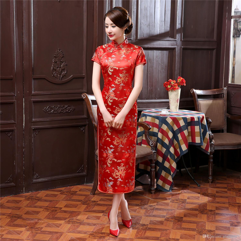Abend Perfekt Qipao Abendkleid Stylish10 Schön Qipao Abendkleid Ärmel