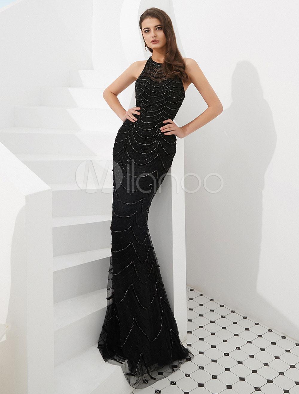 Abend Einfach Schwarze Abend Kleider Bester PreisFormal Schön Schwarze Abend Kleider Galerie