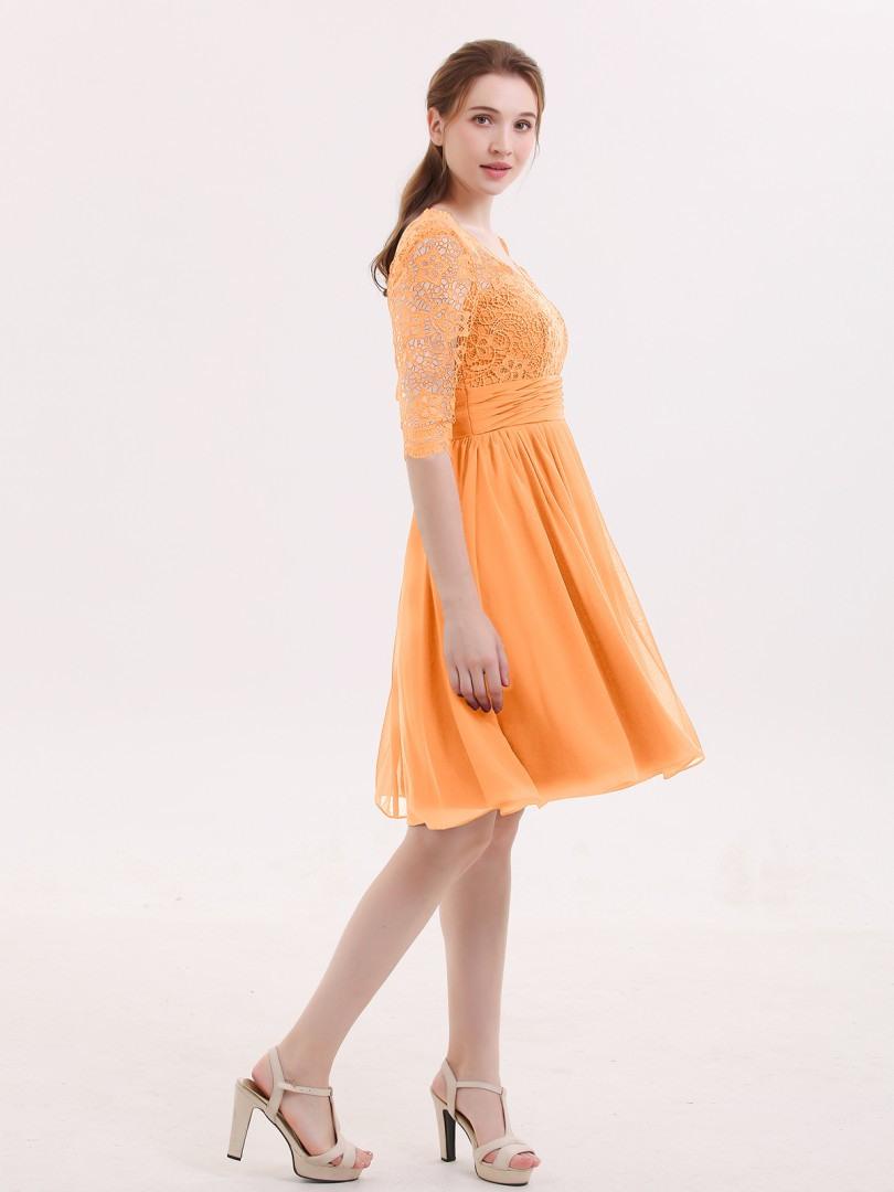 17 Luxurius Kleid Orange Kurz Design13 Luxus Kleid Orange Kurz Vertrieb