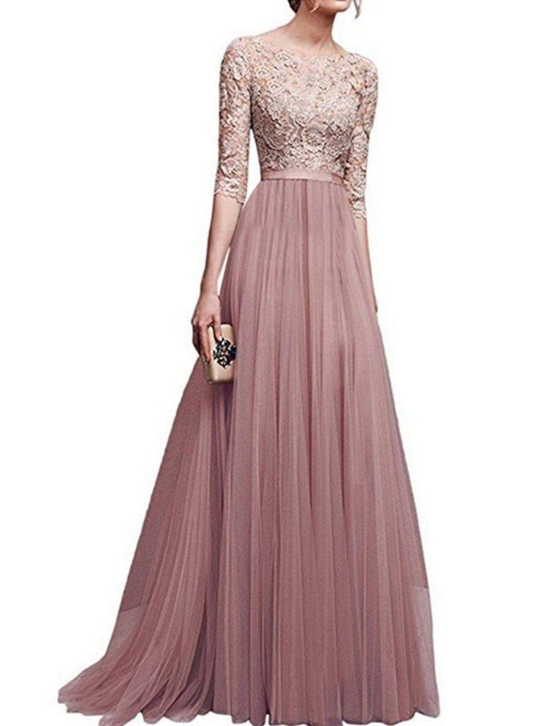 20 Top Abendkleid Eng Lang Ärmel - Abendkleid