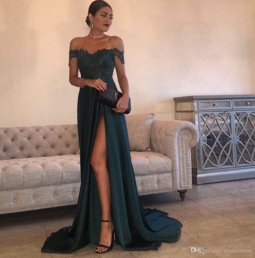 Formal Einzigartig Dunkelgrünes Abendkleid ÄrmelFormal Schön Dunkelgrünes Abendkleid Spezialgebiet
