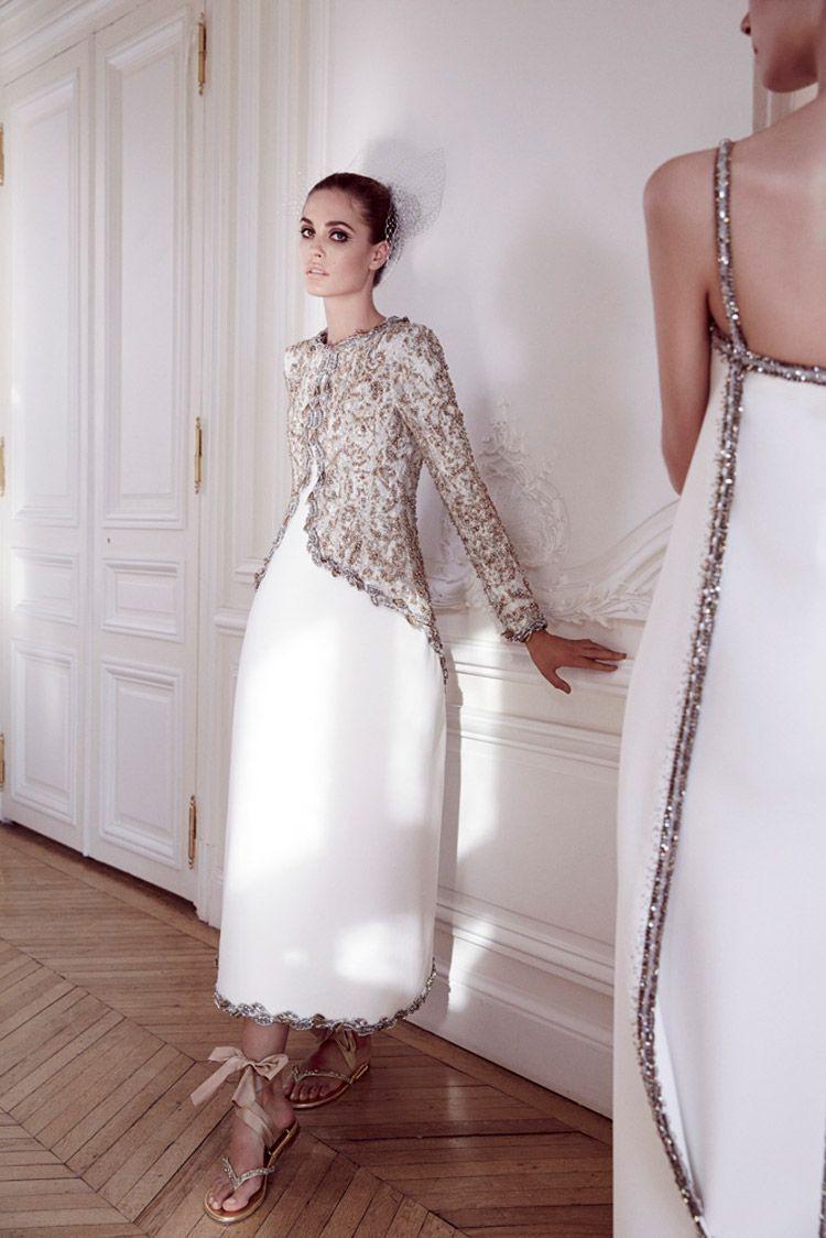 Wunderbar Chanel Abendkleid Stylish13 Perfekt Chanel Abendkleid Design