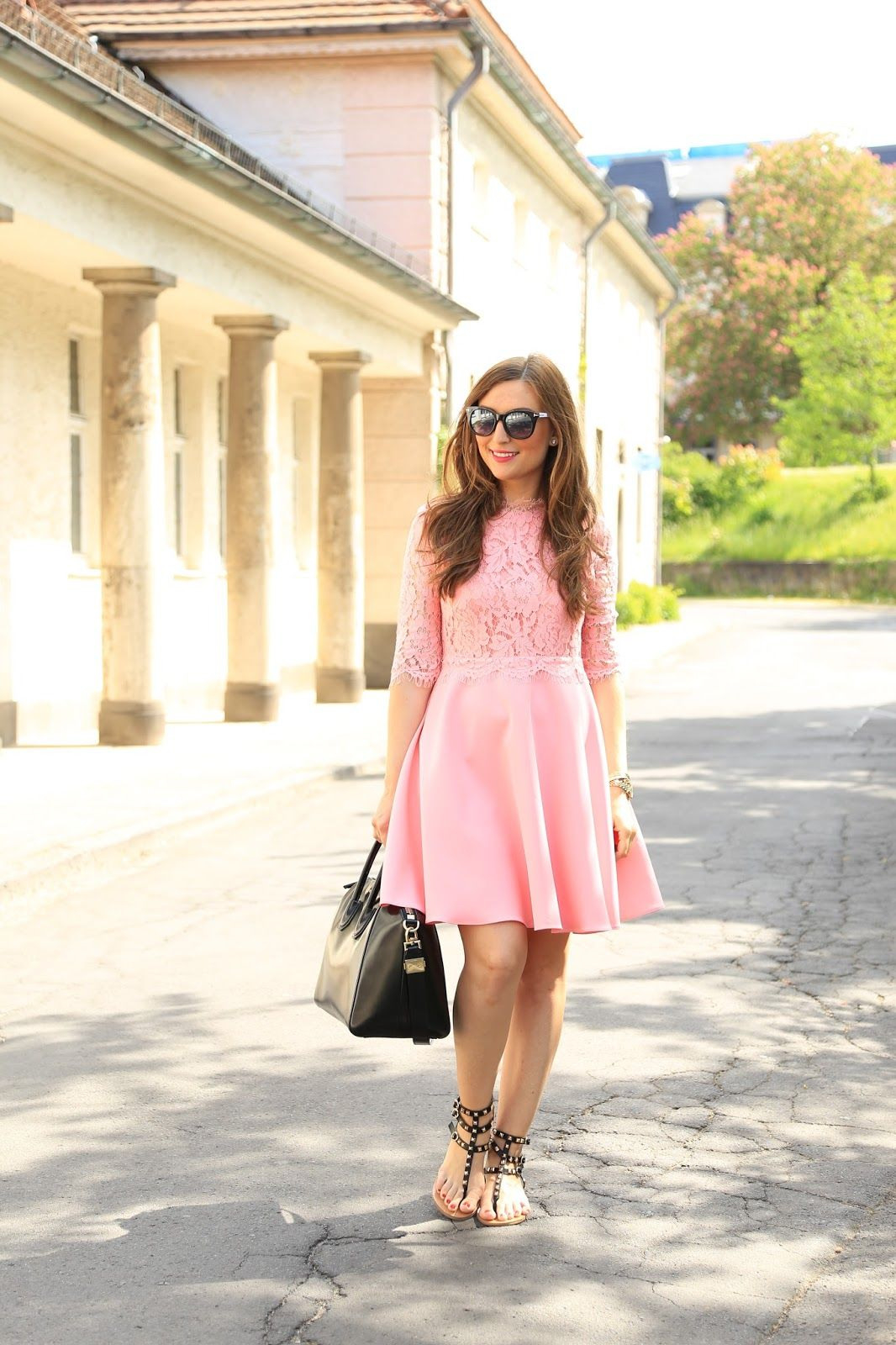 20 Genial Rosa Kleid Mit Ärmeln Spezialgebiet20 Cool Rosa Kleid Mit Ärmeln Stylish