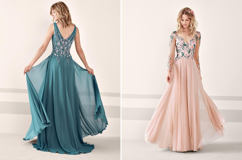 Schön Pronovias Abendkleid für 2019Formal Genial Pronovias Abendkleid Stylish
