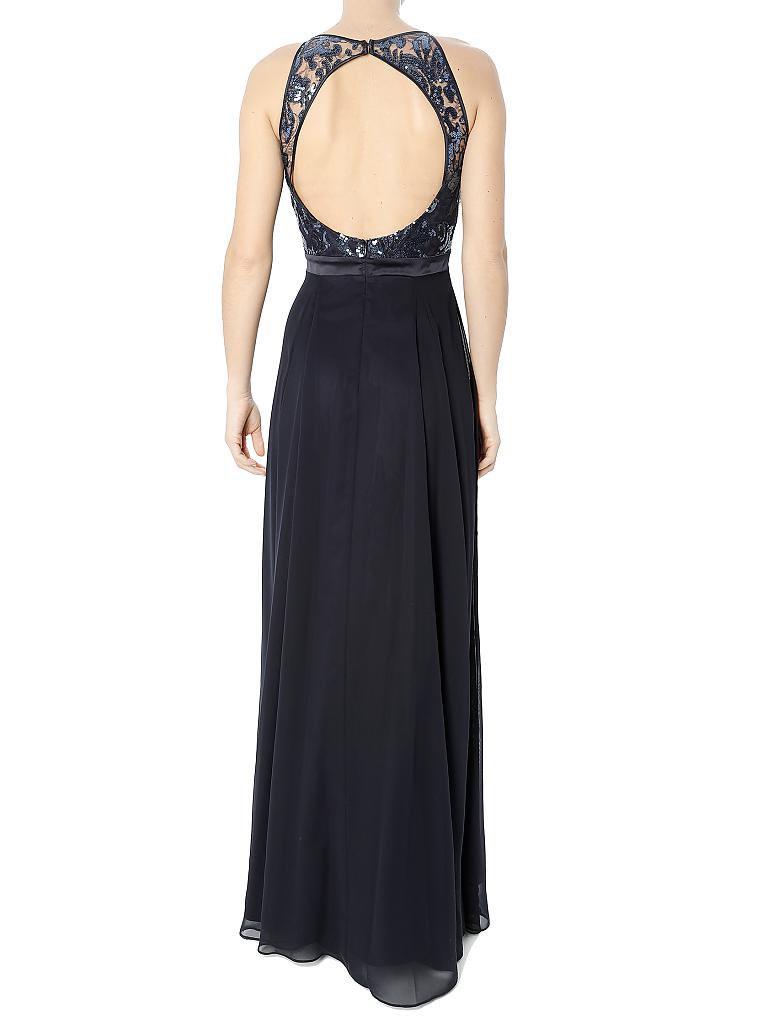 Formal Leicht Vera Mont Abendkleid Blau Design - Abendkleid