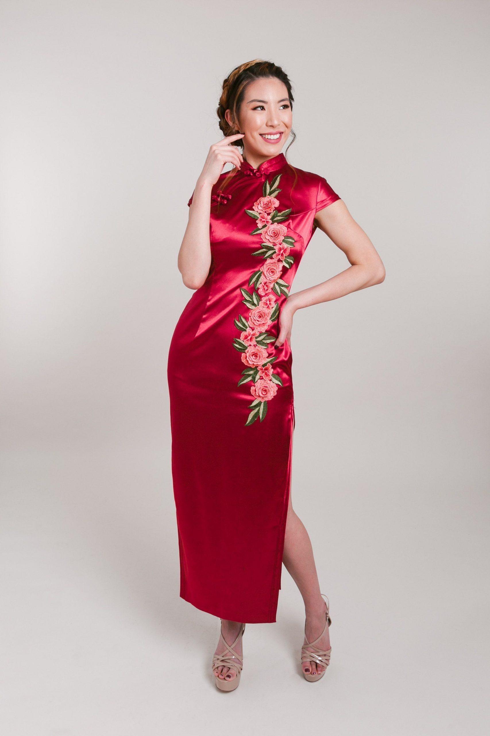 Abend Einzigartig Qipao Abendkleid Boutique Genial Qipao Abendkleid Design