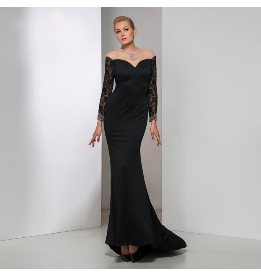 15 Spektakulär Abend Kleid Langarm Galerie Luxus Abend Kleid Langarm für 2019