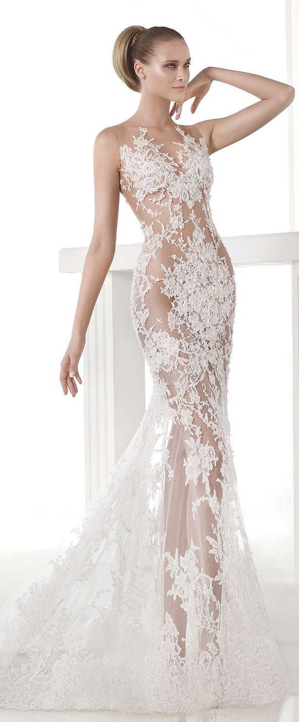 Formal Elegant Pronovias Abendkleid für 2019Formal Elegant Pronovias Abendkleid Bester Preis
