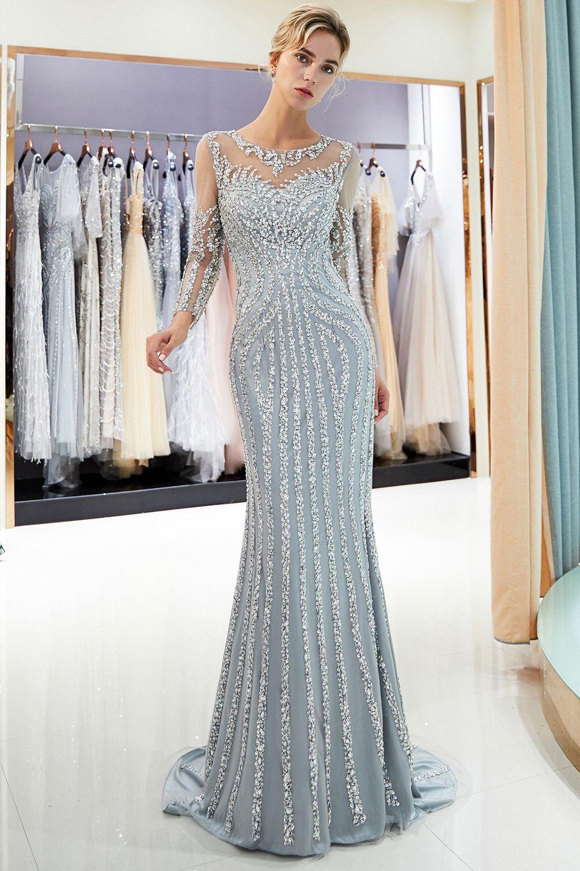 15 Großartig Silber Abend Kleid Bester Preis Genial Silber Abend Kleid Stylish