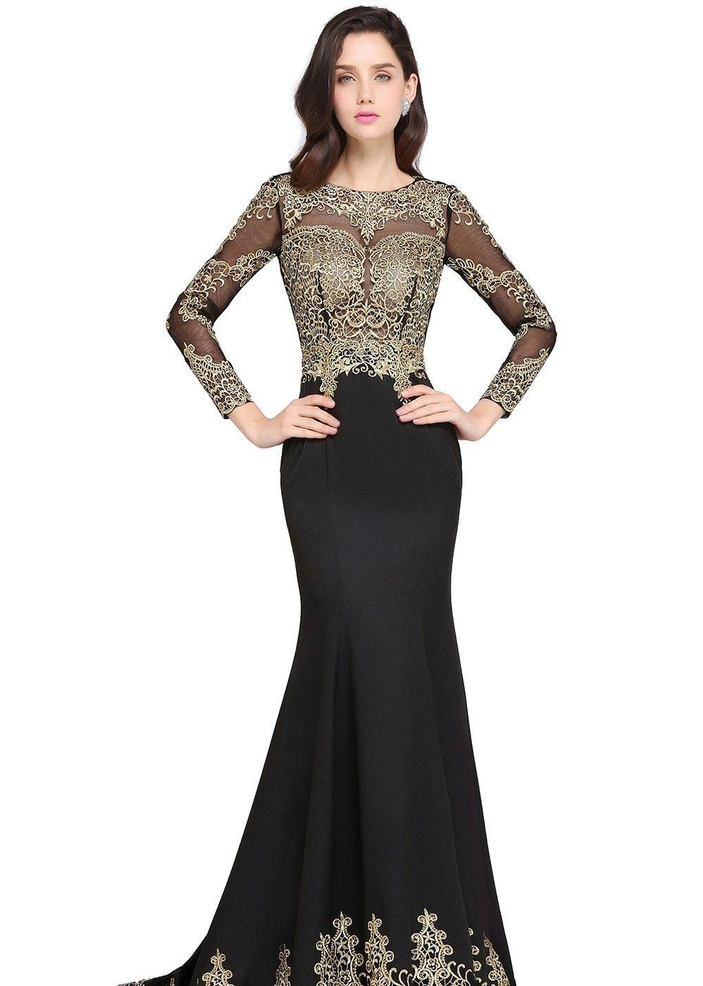Luxus Abendkleider Mit Ärmel Stylish10 Kreativ Abendkleider Mit Ärmel Design