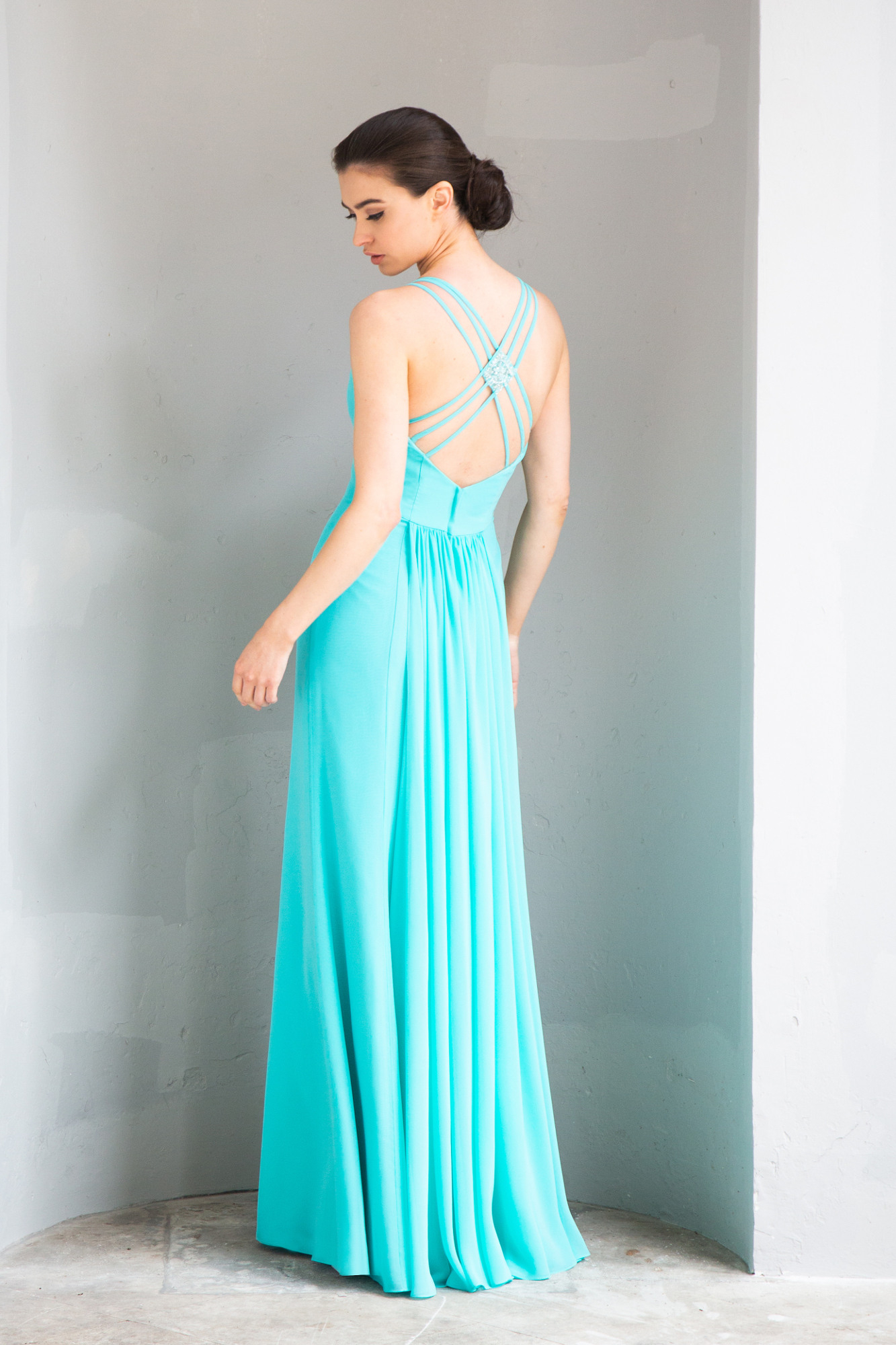 Schön Türkises Langes Kleid Bester PreisAbend Genial Türkises Langes Kleid Spezialgebiet