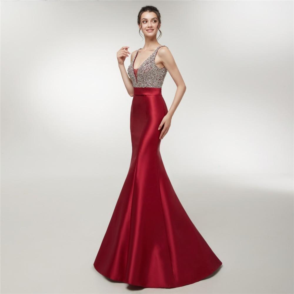 Coolste Abendkleid Tiefer Ausschnitt Ärmel15 Elegant Abendkleid Tiefer Ausschnitt Design