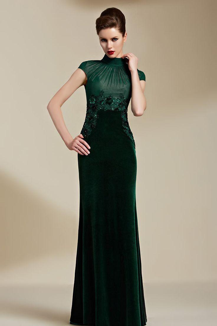 Elegant Abend Make Up Grünes Kleid Ärmel Fantastisch Abend Make Up Grünes Kleid Ärmel