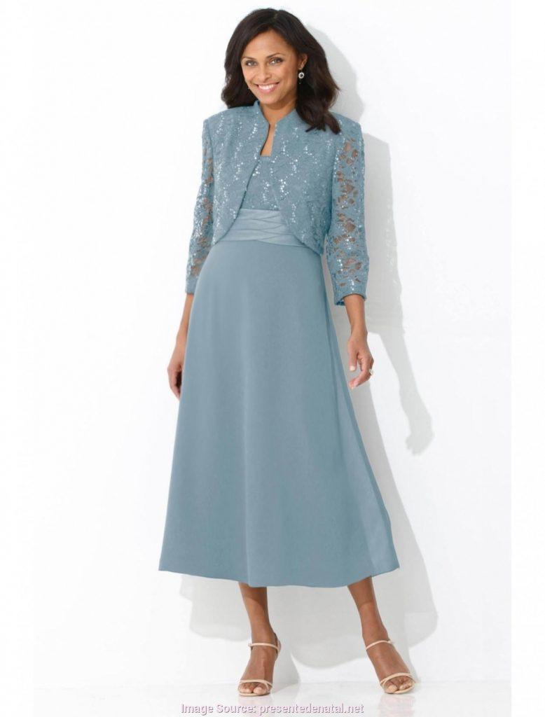 Elegant Elegante Damen Kleider Wadenlang ÄrmelDesigner Fantastisch Elegante Damen Kleider Wadenlang für 2019