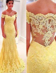 15 Schön Gelb Abendkleid Design17 Genial Gelb Abendkleid Ärmel