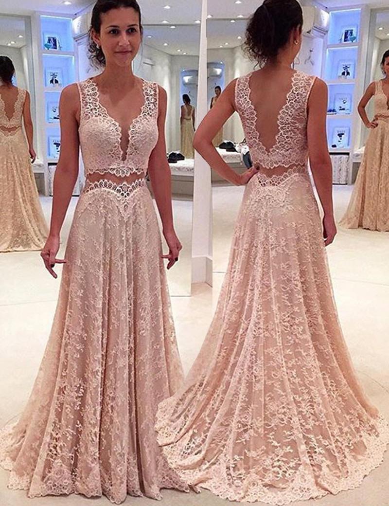 Abend Coolste Kleid Rosa Spitze Stylish17 Perfekt Kleid Rosa Spitze Bester Preis
