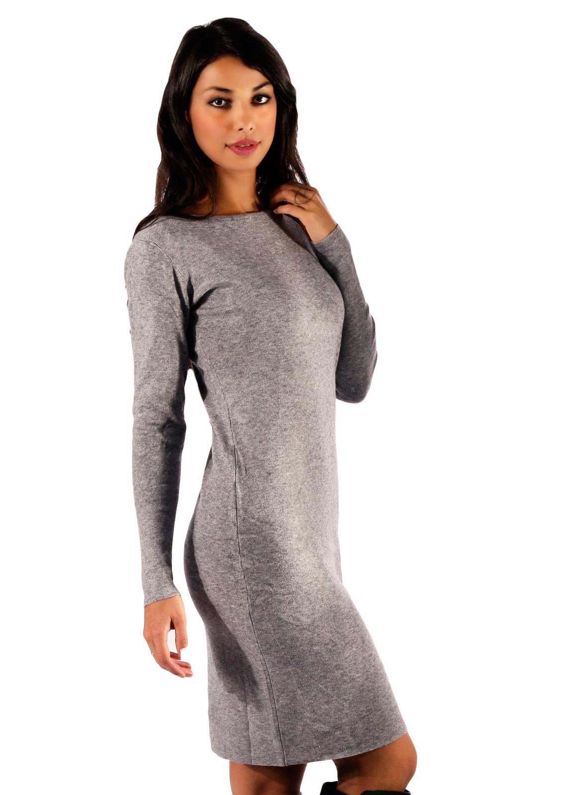 Abend Genial Kleid Grau Langarm VertriebAbend Genial Kleid Grau Langarm für 2019