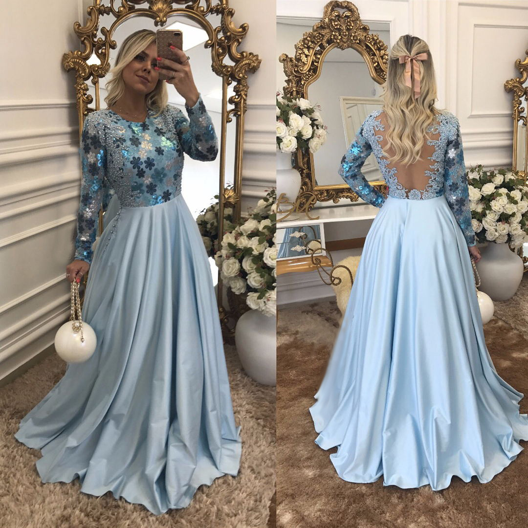 17 Leicht Abendkleid Hellblau Lang SpezialgebietFormal Luxurius Abendkleid Hellblau Lang Stylish