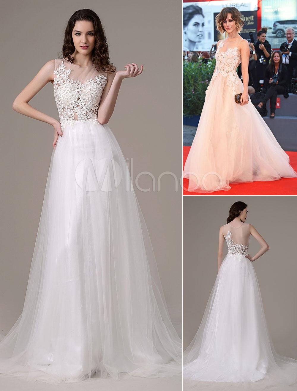 Ausgezeichnet Abend Kleid In Weiss GalerieAbend Luxurius Abend Kleid In Weiss Ärmel